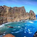 Die Ostküste von Madeira in der Nähe von Canical