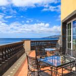 Sonnenterrasse auf Madeira