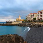Schöner Strand auf Madeira