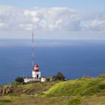 Leuchtturm in Ponta do Pargo, Madeira