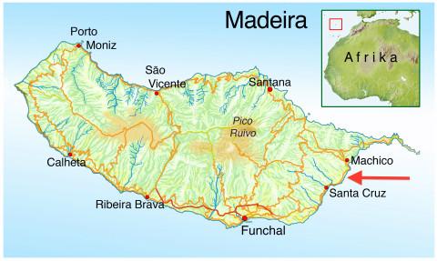 Madeira Flughafen