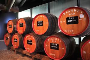 Madeira Urlaub - Weinfässer im Keller